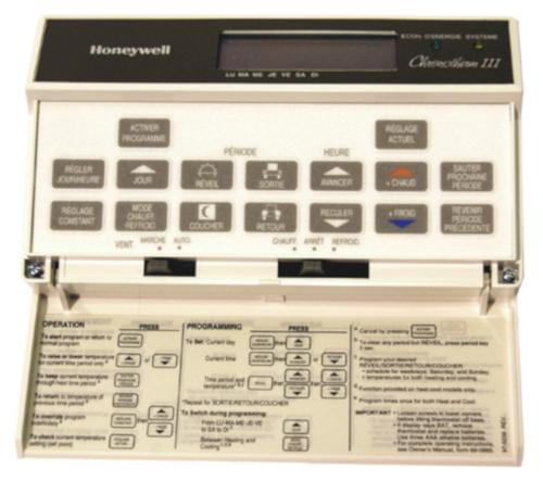 3200 units HoneyWell T8600C 1279 New White Fuel Saver Thermostats on