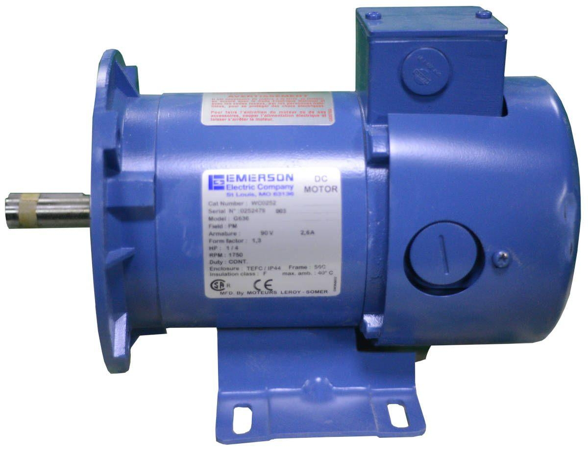 Emerson Electric Motor WC0252 1/4HP ***NEW***