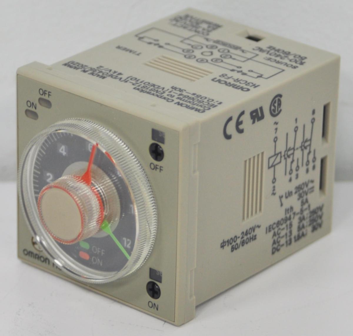 Omron H3cr-f8 Power Off Delay Timer    New